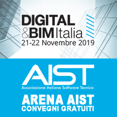 PROGRAMMA IN ARENA AIST – DIGITAL & BIM 2019