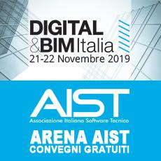PROGRAMMA IN ARENA AIST – DIGITAL & BIM 2019